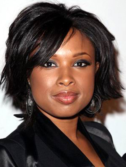 Chin Length Black Fashion Jennifer Hudson
