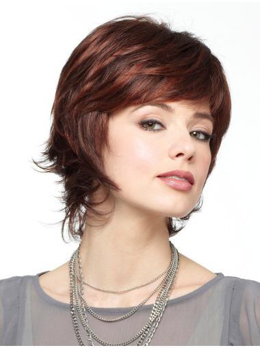 Beautiful Wavy Short Best Synthetic Lace Wigs