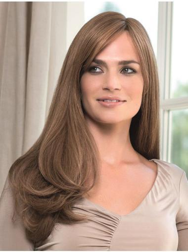 Monofilament With Bangs New Human Long Cheap Human Hair Wig