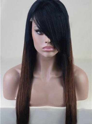 Full Lace Straight Fabulous African American Natural Hair Wig