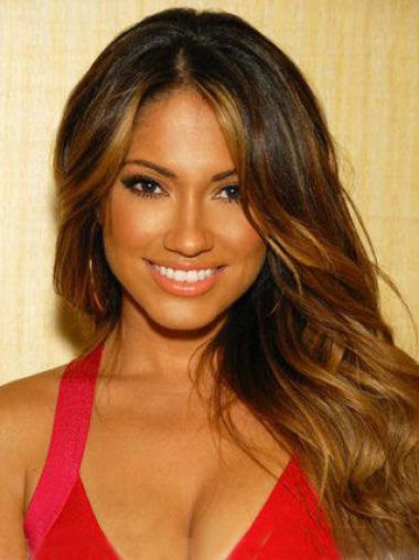 Indian Remy Hair Wavy Hairstyles African American Lacefront Wigs
