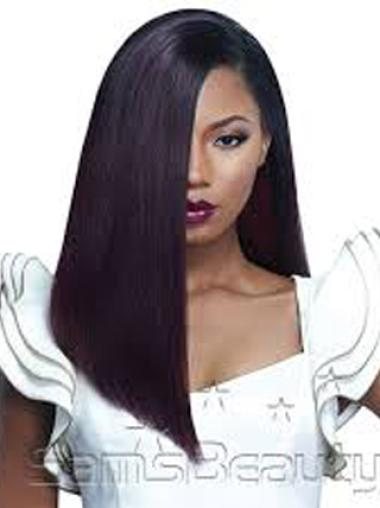 Affordable Remy Human Hair Long Stylish Wigs For Black Women