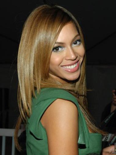 Without Bangs Remy Human Hair Best Beyonce Human Lace Wig