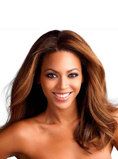 Lace Front Wavy 16 Inches New Beyonce Style Human Hair