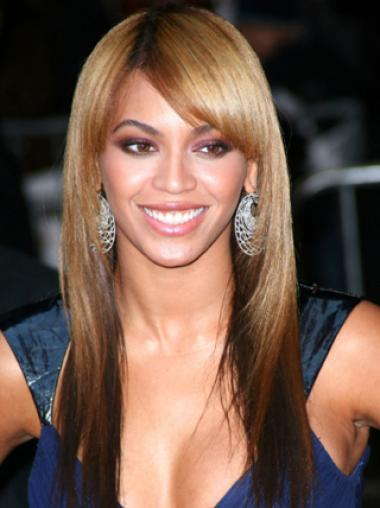 Full Lace Straight Human Hair Wigs Like Beyonce