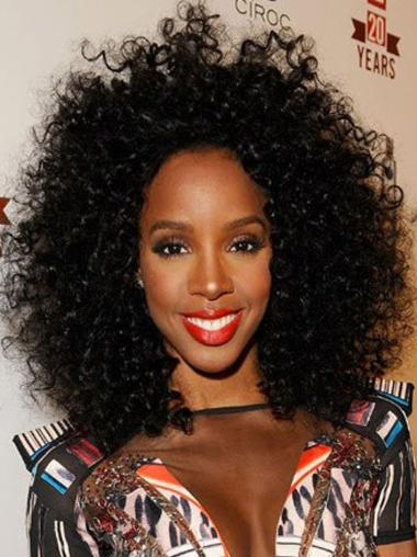 14 Inches Shoulder Length Without Bangs Human Wig For Black Womans