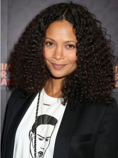14 Inches Shoulder Length Without Bangs Natural Wig For Black Woman