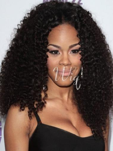 16 Inches Long Without Bangs Fashionable African American Wigs