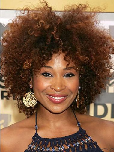 10 Inches Short Without Bangs Gorgeous African American Wigs