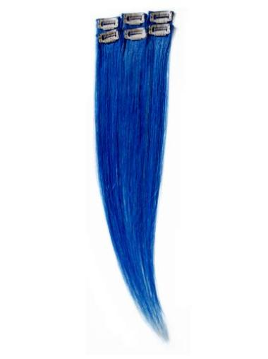 Gorgeous Black Remy Human Hair Straight Top Hair Extensions
