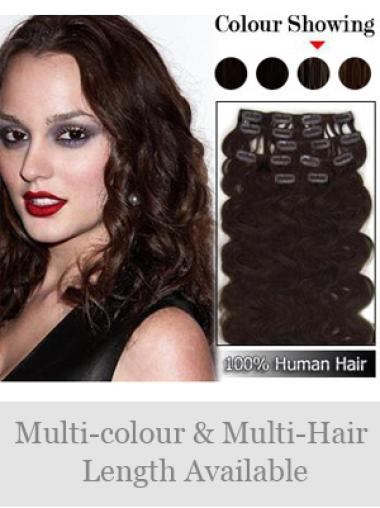 Auburn Wavy Exquisite Professional Human Hair Extensions