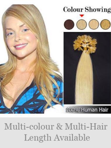 Gorgeous Remy Human Hair Nail/U Tip Hair Extensions