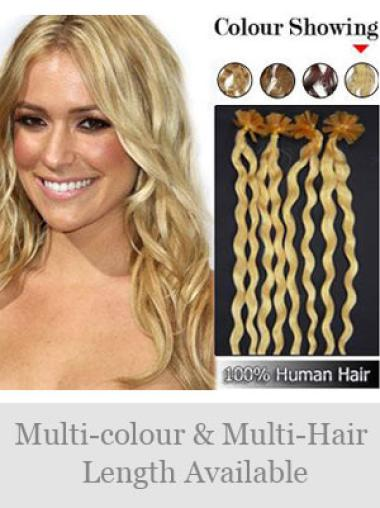 Curly Remy Incredible Nail/U Tip Hair Extensions
