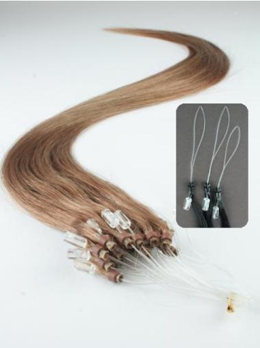 Brown Cheap Micro Loop Ring Hair Extensions