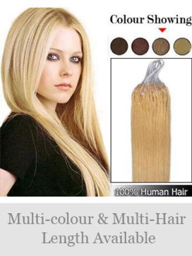 Blonde Stylish Micro Loop Ring Hair Extensions