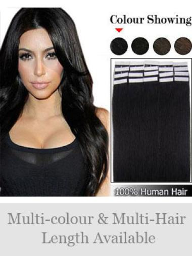 Black Straight Affordable Wigs Hair Extensions