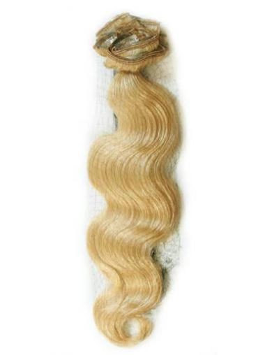 Blonde Wavy Ideal Hair Extension For Short Hair