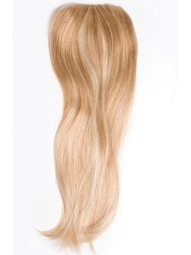 Long Straight Blonde Stylish Clip In Human Hair Wigs
