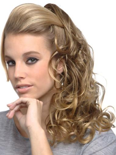 Long Blonde Gorgeous Clip In Wigs Online Curly