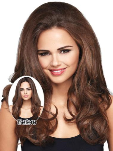 Long Wavy Brown Good Wigs And Hair Extensions