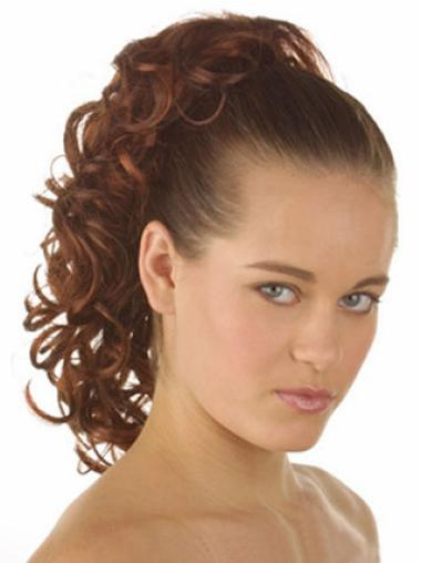Curly Synthetic Top Ponytails