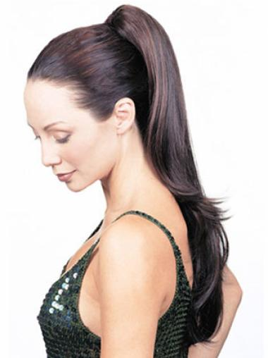 Straight Synthetic Trendy Ponytails