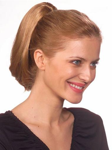 Straight Synthetic Soft Ponytails