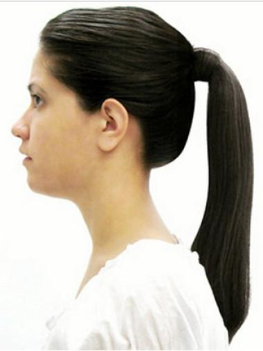 Straight Synthetic Durable Ponytails