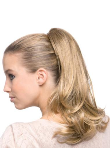 Blonde Wavy Synthetic Exquisite Ponytails
