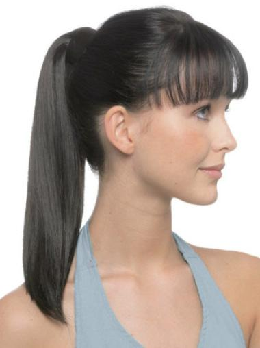 Straight Hairstyles Human Hair Hairpieces