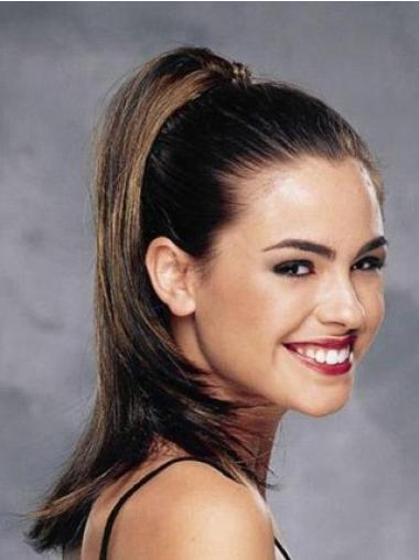 Straight Synthetic Fashionable Ponytails