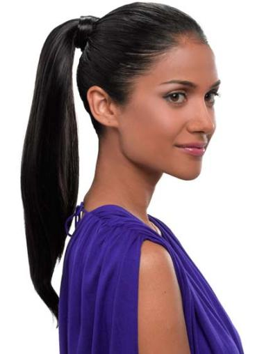 Straight Synthetic 18 Inches Fashion Ponytails