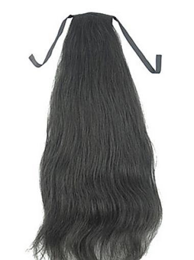 Long Soft Ponytails For Black Hair