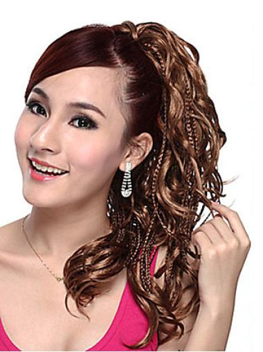 Wavy Synthetic 14 Inches Great Ponytails
