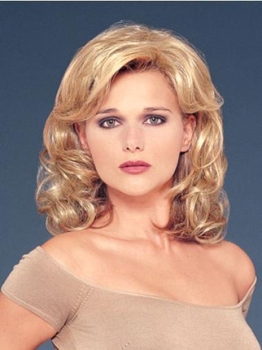Popular Blonde Hair Falls & Half Wigs Synthetic Hair