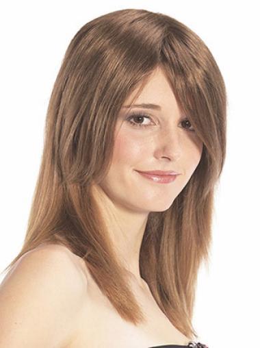 Affordable Auburn Remy Human Hair Half Wig