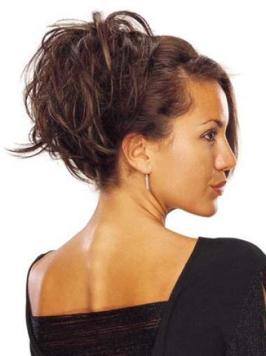 Synthetic Style Brown Wraps / Buns