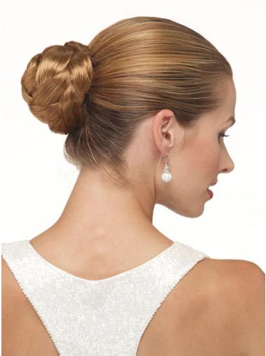 Synthetic Natural Brown Wraps / Buns