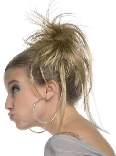 Blonde Synthetic Fashionable Wraps / Buns