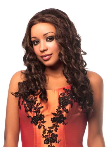 Style Without Bangs Long 16 Inches Synthetic Wigs