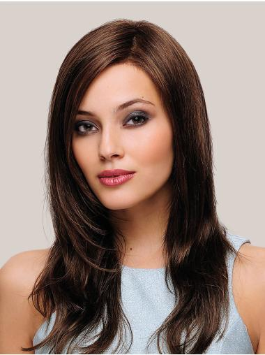 Brown Monofilament Without Bangs Long Long Wigs For Sale