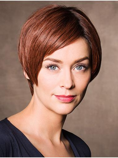 Synthetic Short Straight Auburn Buy Bob Wig