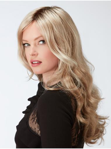 """20"""" Curly Blonde Synthetic Layered Ladies Long Wigs"""