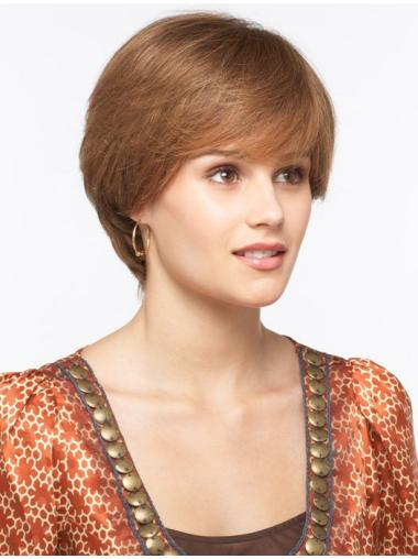 Short Monofilament 8 Inches Modern Synthetic Wigs