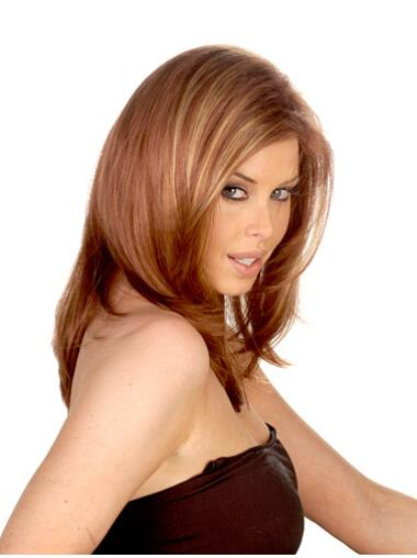 Fabulous Synthetic 16 Inches Long Synthetic Wigs