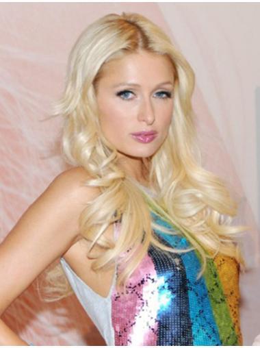 Blonde Without Bangs Long Suitable Paris Fashion Wigs