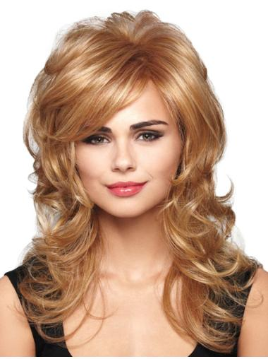 20 Inches Capless Wavy Affordable Long Hair Wig