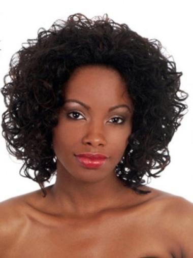 Great Kinky Chin Length Capless Synthetic Heat Friendly Wigs