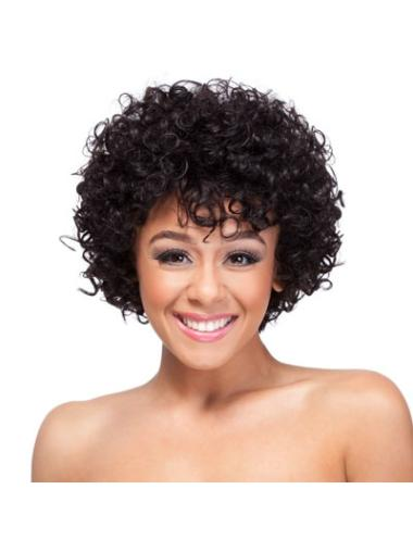 Capless Classic Auburn Women'S Short Curly Synthetic Wigs