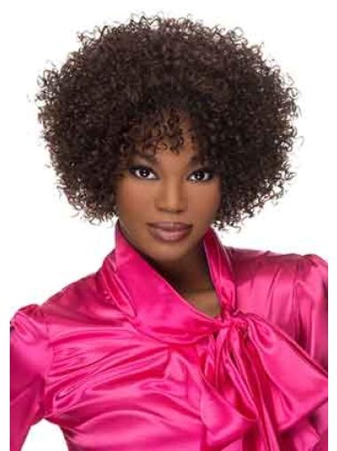 Short 12 Inches Layered Trendy Capless African American Synthetic Wigs